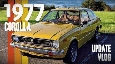 1977 Toyota Corolla Update Vlog - Wheels, Bumpers, & Carbs... oh my!