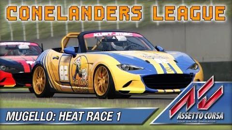 Assetto Corsa (Multiplayer) - Conelanders - Mugello Heat Race