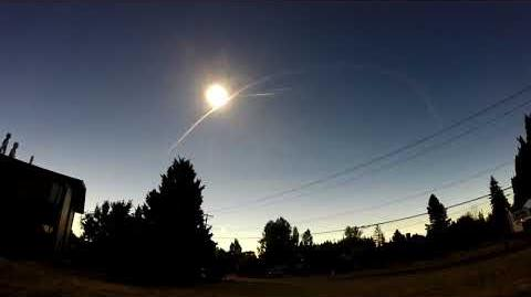 2017 Total Solar Eclipse from Corvallis, OR - GoPro Wide-Angle