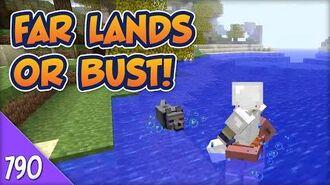 Minecraft Far Lands or Bust - 790 - Moat Regulations