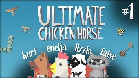 AT LEAST WE ALL DIED - Ultimate Chicken Horse w Eneija, FalseSymmetry, & LDShadowlady