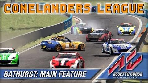 Assetto Corsa (Multiplayer) - Conelanders - Bathurst Main Feature