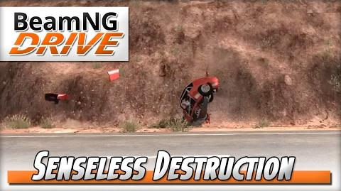 BeamNG.Drive Senseless Destruction Campaign