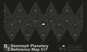 Demnoph Map - Pattern Only