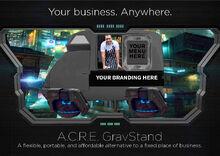 ACRE-GravStand