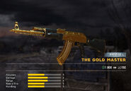 Fc5 weapon ak47 skin gold