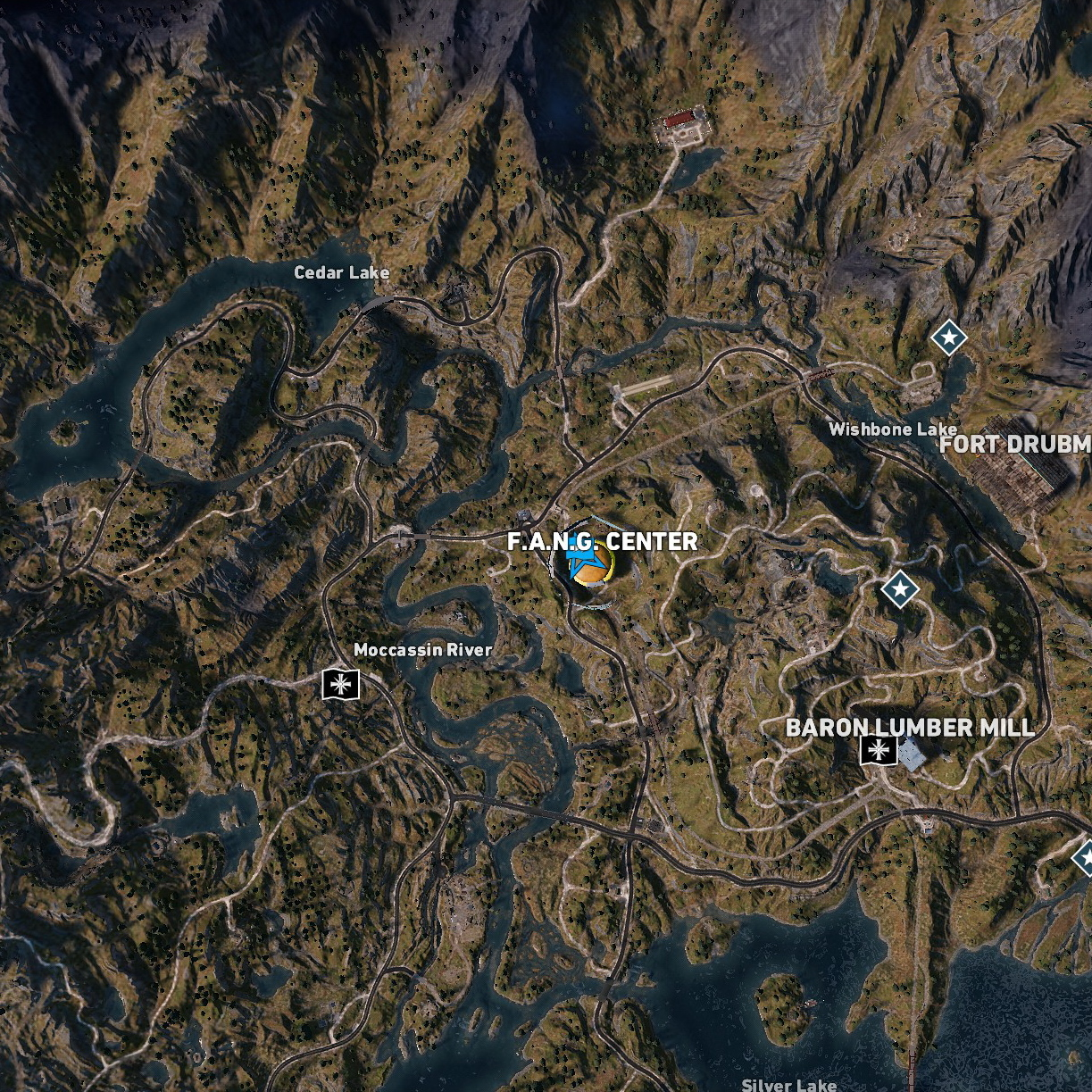 far cry 5 wolf beacon locations map