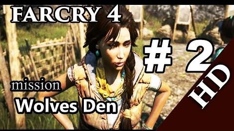 Far Cry 4 Gameplay Part 2 - Wolves Den + Giveaway (PC )