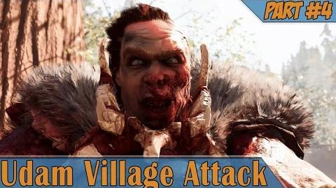 Far Cry Primal Udam Village Attack Sayla The Gatherer Part 4 1080p HD PS4