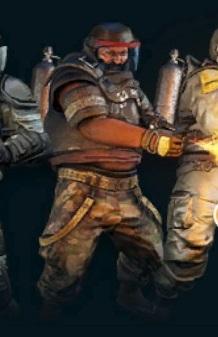 Pirate Heavy Flamer