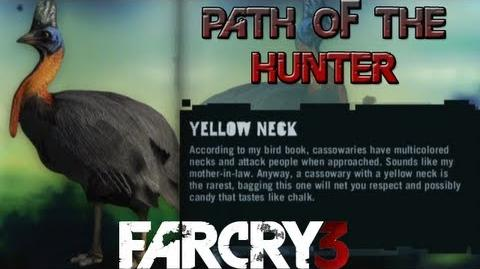 Far Cry 3 - Path of The Hunter Gameplay - Yellow Neck Cassowary