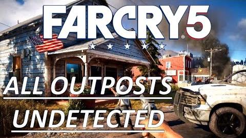 Whitetail Park Ranger Station Cult Outpost - Jacob's Region - Cheeseburger Undetected