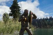 FC5 tutorial player catching fish
