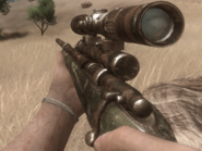 FC2 Ружьё для дротиков (изношенный)