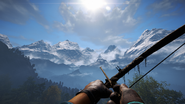 FC4 Hunter Bow First-Person View