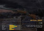 Fc5 weapon 1887 scopes optical