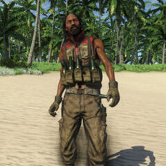 Pirate Molotov Thrower