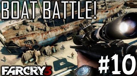 Boat Battle! (Far Cry 3 Part 10)