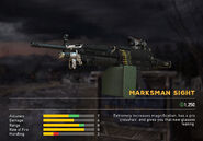 Fc5 weapon m249 scopes marksman