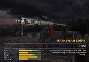 Fc5 weapon arcsilver scopes marksman