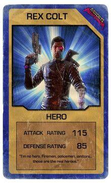 FC3BD card Rex Colt
