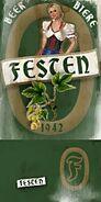 FC2 label sticker beer 02
