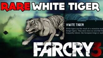 Far Cry 3 - RARE White Tiger