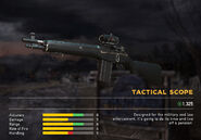 Fc5 weapon ms16tr scopes tactical