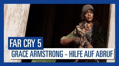 Far Cry 5 Grace Armstrong – Hilfe auf Abruf Charakter-Spotlight Ubisoft DE