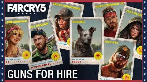 Far Cry 5 Gun For Hire Compilation Ubisoft US