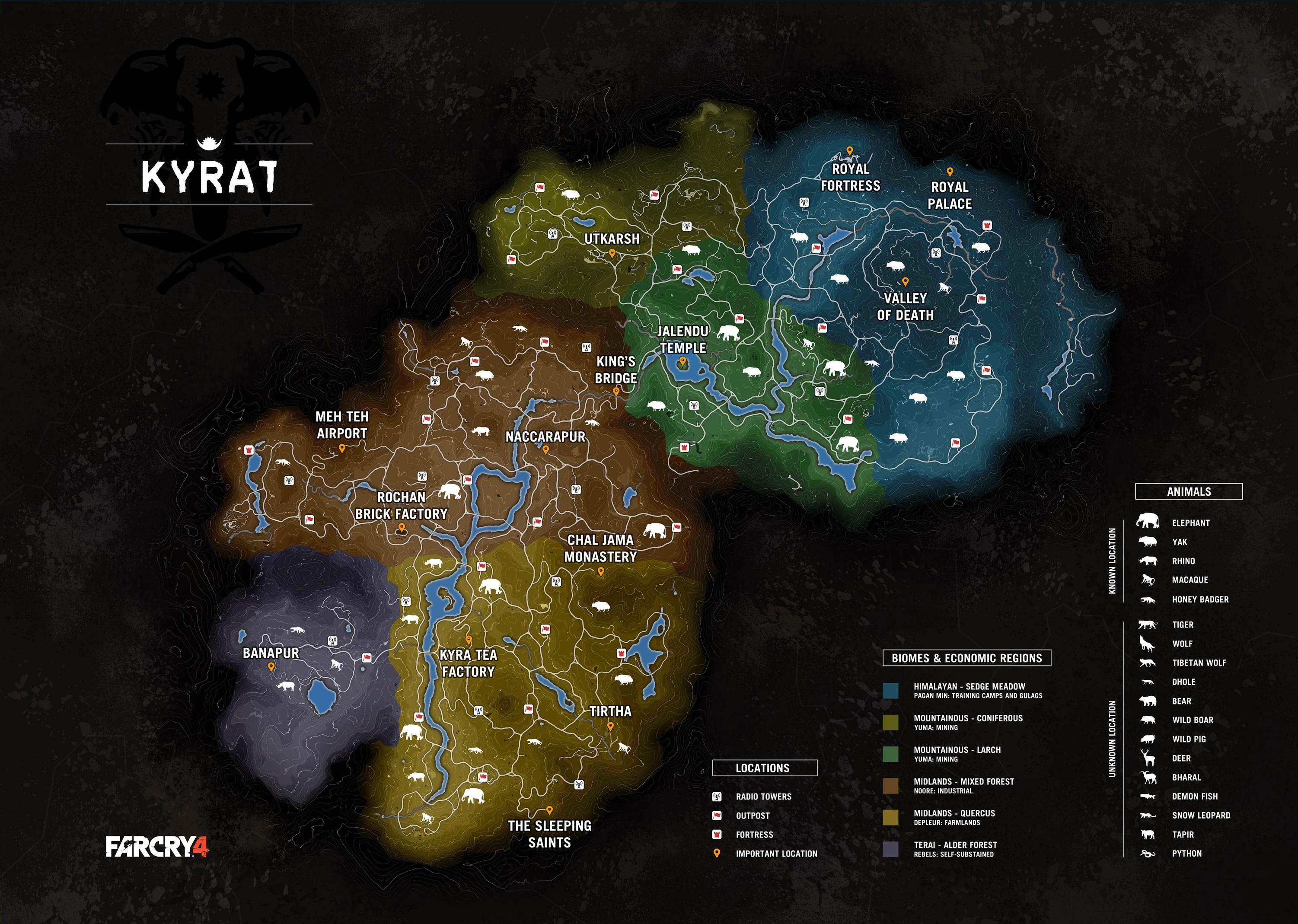 Kyrat Far Cry Wiki