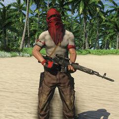 Снайпер-пират с СВД