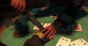 Отрезание пальца