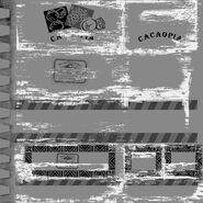 FC2 label Cacaopia logosboxeswood