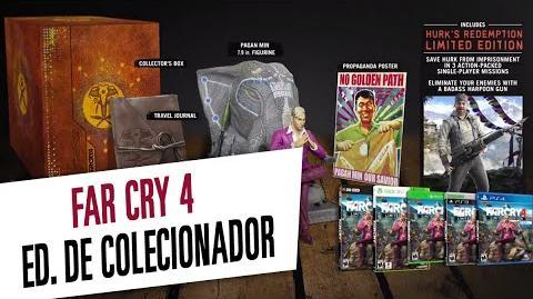Far Cry 4 - Edição de Colecionador Legendado