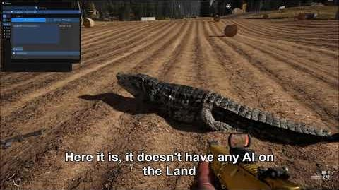 Far Cry 5 Proof that weapon leaks are not fake Vietnam DLC Crocodile Gameplay