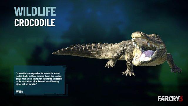 Crocodile | Far Cry Wiki | FANDOM powered by Wikia