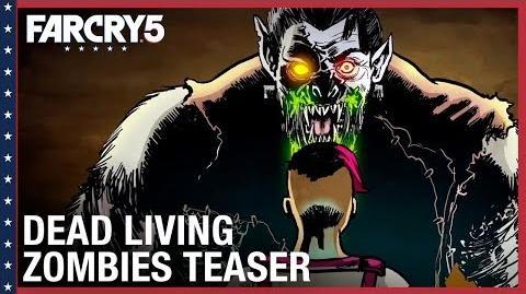 Far Cry 5 Dead Living Zombies Teaser Trailer Ubisoft NA