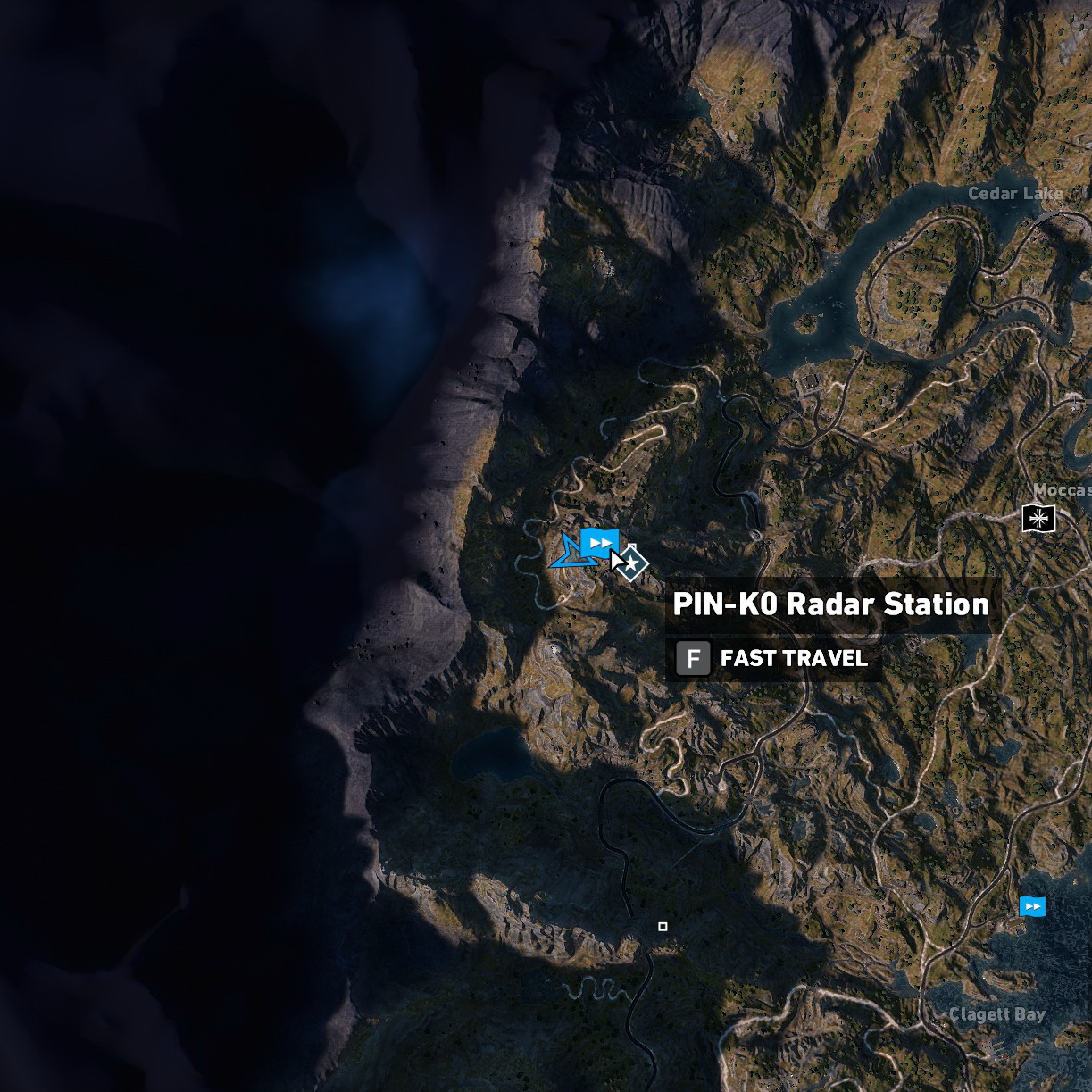 far cry 5 all wolf beacons map