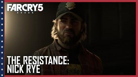Far Cry 5 Official The Resistance Nick Rye Trailer Ubisoft US