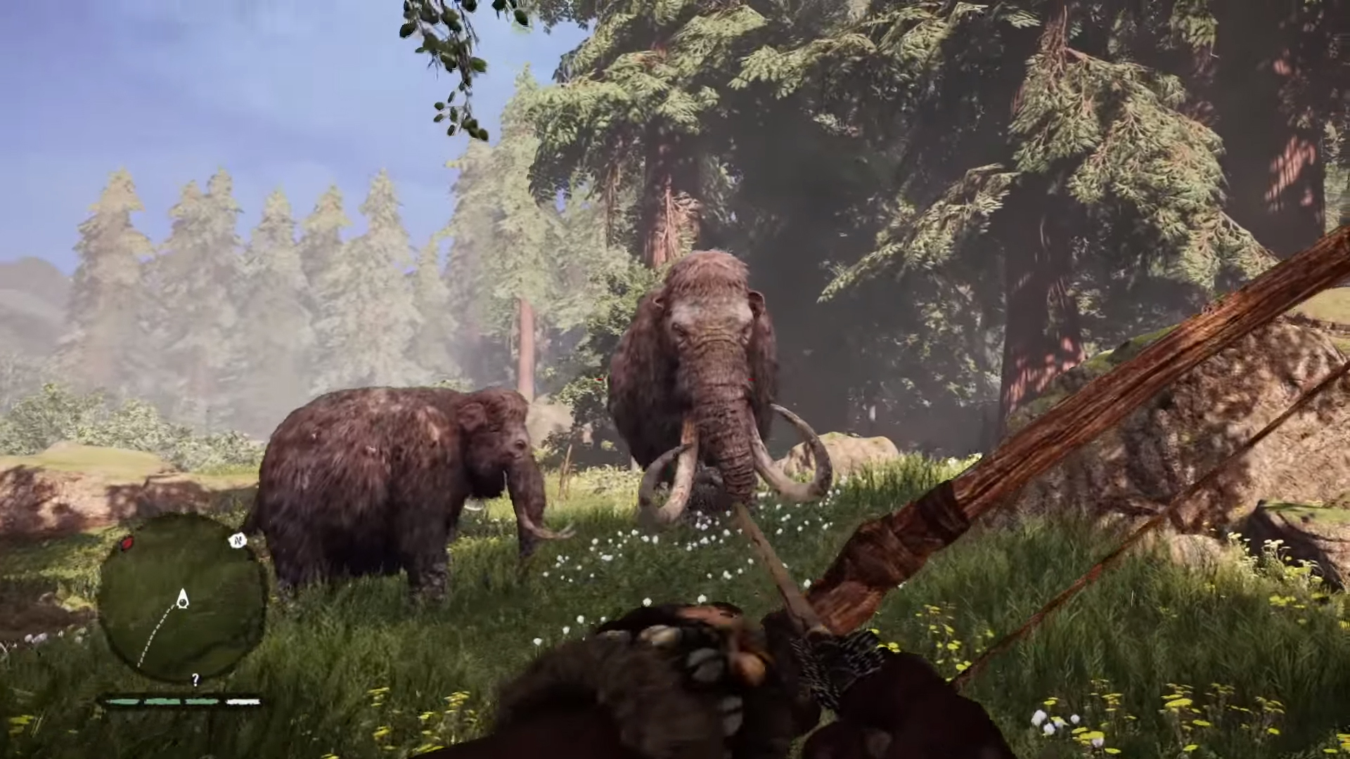 far cry primal animals hunted and tamed
