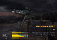 Fc5 weapon mp5 scopes marksman