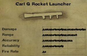 Carl G Rocket Launcher