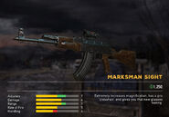 Fc5 weapon ak47 scopes marksman
