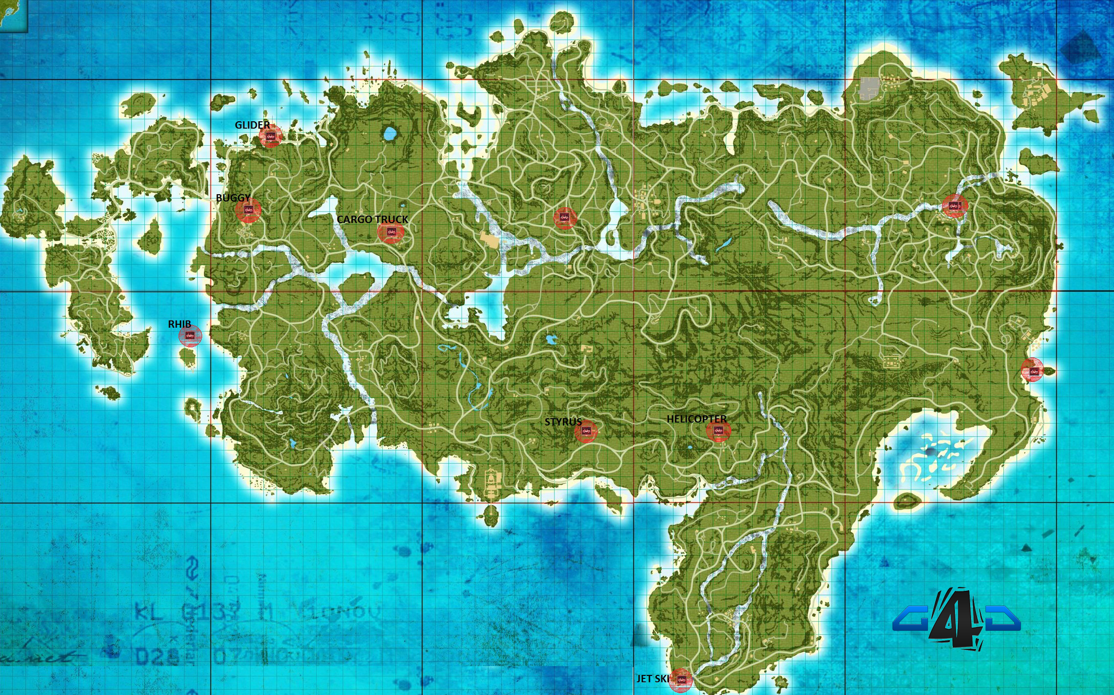Far cry 3 far cry wiki fandom powered by wikia far cry 3 vehicles location map guide4games gumiabroncs Images