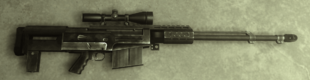 The AS50 as it appears in Far Cry 2