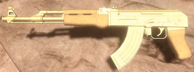 golden ak 47 far cry wiki fandom powered by wikia. Black Bedroom Furniture Sets. Home Design Ideas