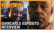 Far Cry 6 Meet Antón Castillo Giancarlo Esposito Interview UbiFWD July 2020 Ubisoft NA