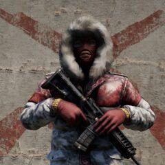 Зимний командир (все командиры из разных подразделений в заснеженных уровнях имеют схожую модель)