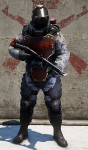 Guard Snow Heavy Flamer